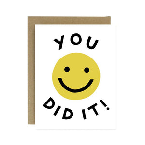 You Did It! Card