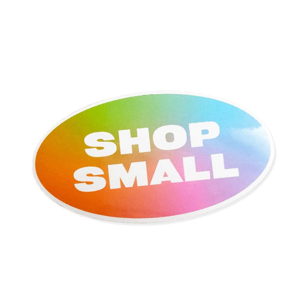 Shop Small Vinyl Sticker