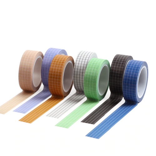 Grid Washi Tape | Various Colours