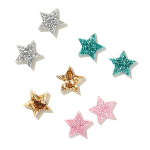STAR STUDS // ASSORTED COLOURS