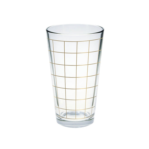Gold Grid Glass