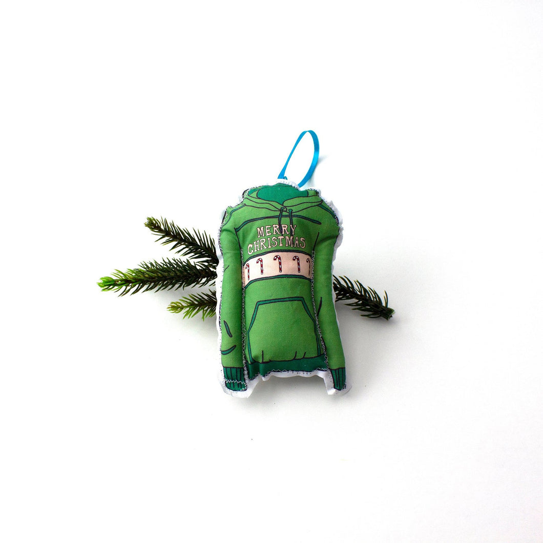 Holiday Sweater Ornaments | Various Styles