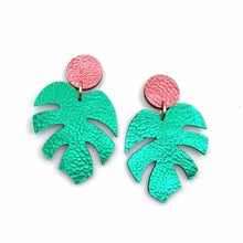 Load image into Gallery viewer, Earrings - Off Duty NYC - Tropical Mini Palms