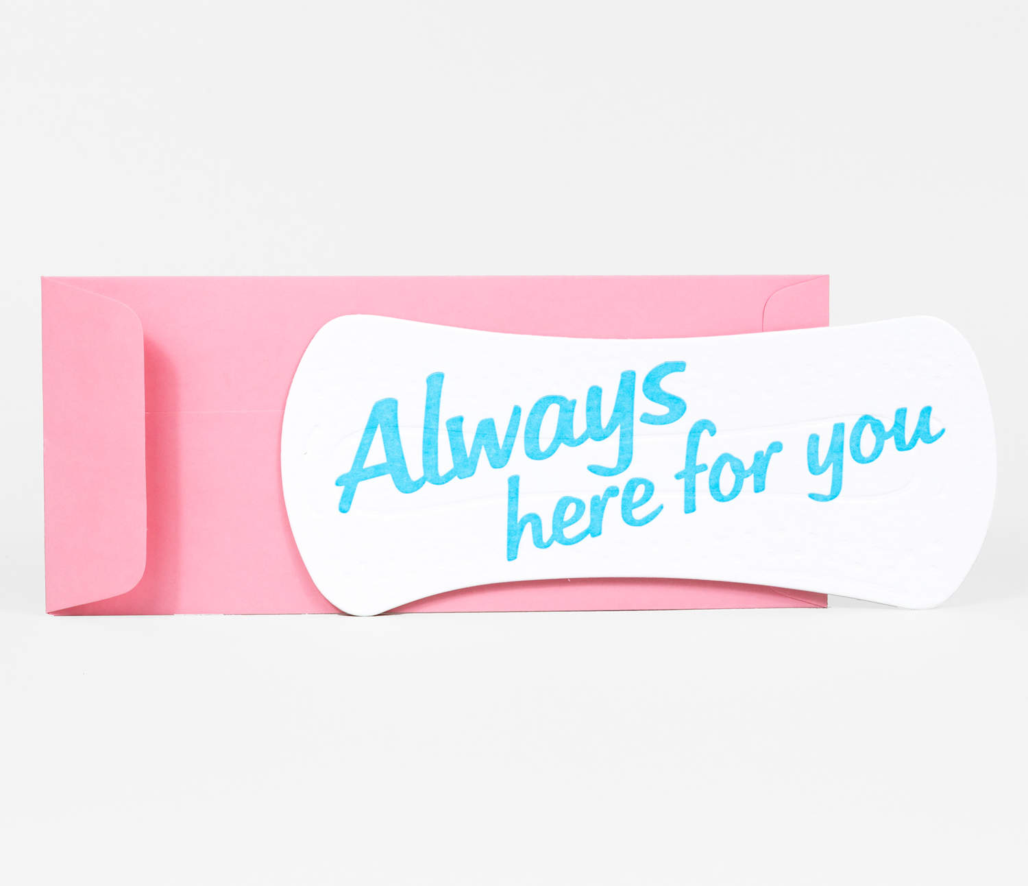 Always Here For You Pad Card