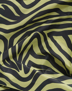 Olive Zebra Reusable Bag