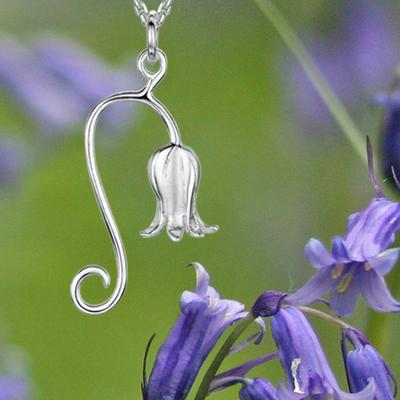 Glenna Scottish Bluebell | Silver Bluebell Jewellery |Scotland