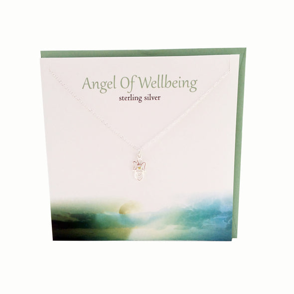 Angel of Well being silver necklace | The SILVER sTUDIO sCOTLAND