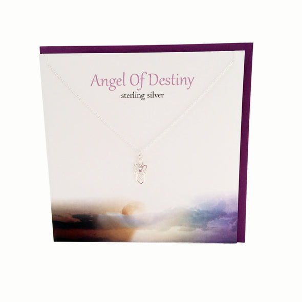 Angel of Destiny silver necklace | The Silver Studio Scotland