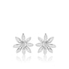 Allium silver stud earrings| Glenna Jewellery Scotland