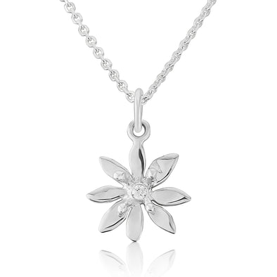 Allium Silver small Necklace | Glenna Jewellery Scotland