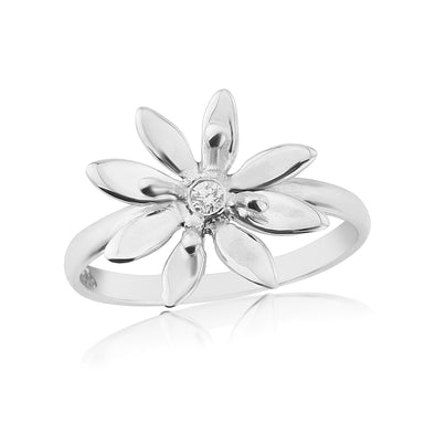 Glenna Allium Ring | Sterling silver Scottish Designer Jewellery