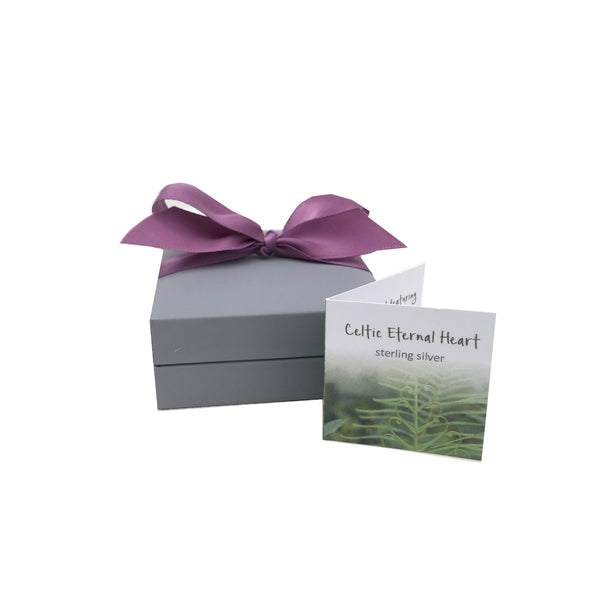 Celtic Eternal Heart Gift Box | Glenna Jewellery Scotland