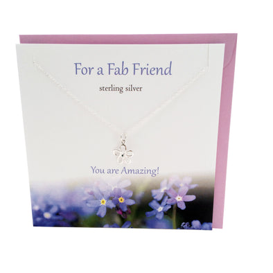 For a Fab Friend silver necklace | The Silver Studio Scotland