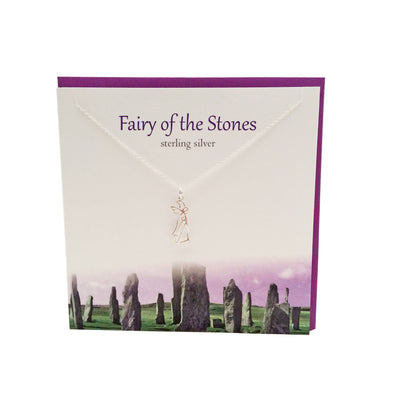 Fairy of the stones silver necklace | The Silver Studio Scotland