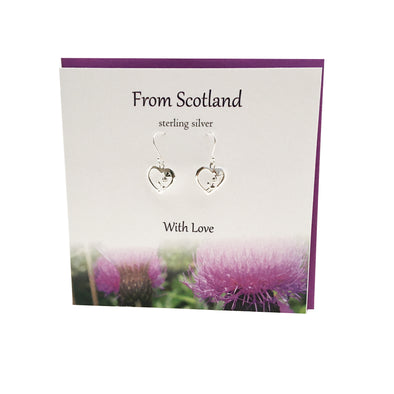 From Scotland with Love silver thistle earrings | The Silver Studio
