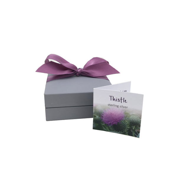 Scottish Thistle Heart Collection Gift Box | Glenna Jewellery Scotland