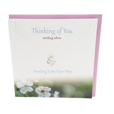 Thinking of You silver pendant | The Silver Studio Scotland