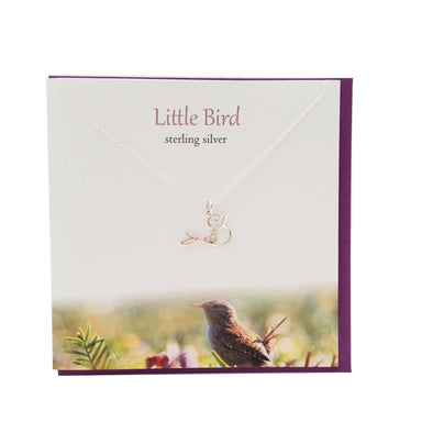 Little Bird silver necklace | The Silver Studio Scotland