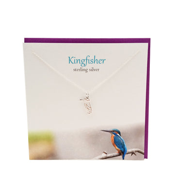 Kingfisher silver pendant | The Silver Studio Scotland