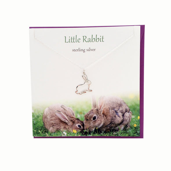 Little Rabbit silver necklace | The Silver Studio Scotland