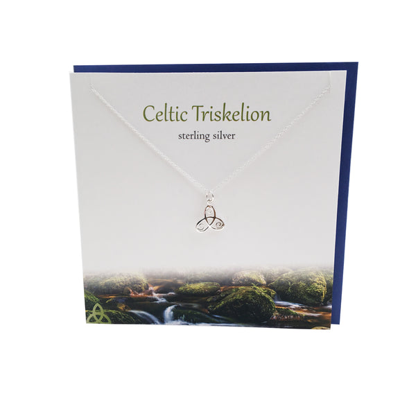 Celtic Triskelion silver pendant | The Silver Studio Scotland