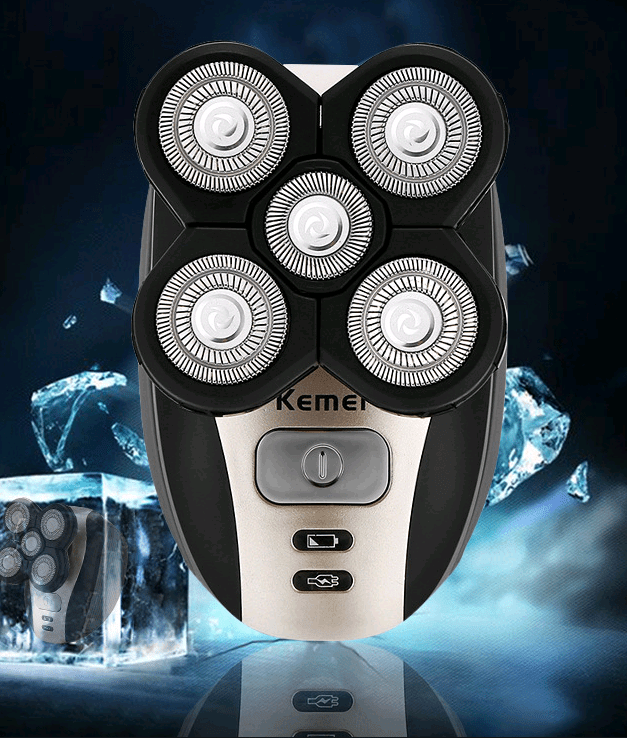 5 in 1 Multi-function Washable Rechargeable Shaving Machine - DealzBEGIN