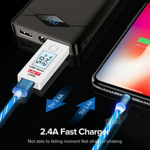 Led Magnetic 3 In 1 Usb Charging Cable - DealzBEGIN