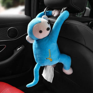 Hanging Monkey Tissue Holder - DealzBEGIN