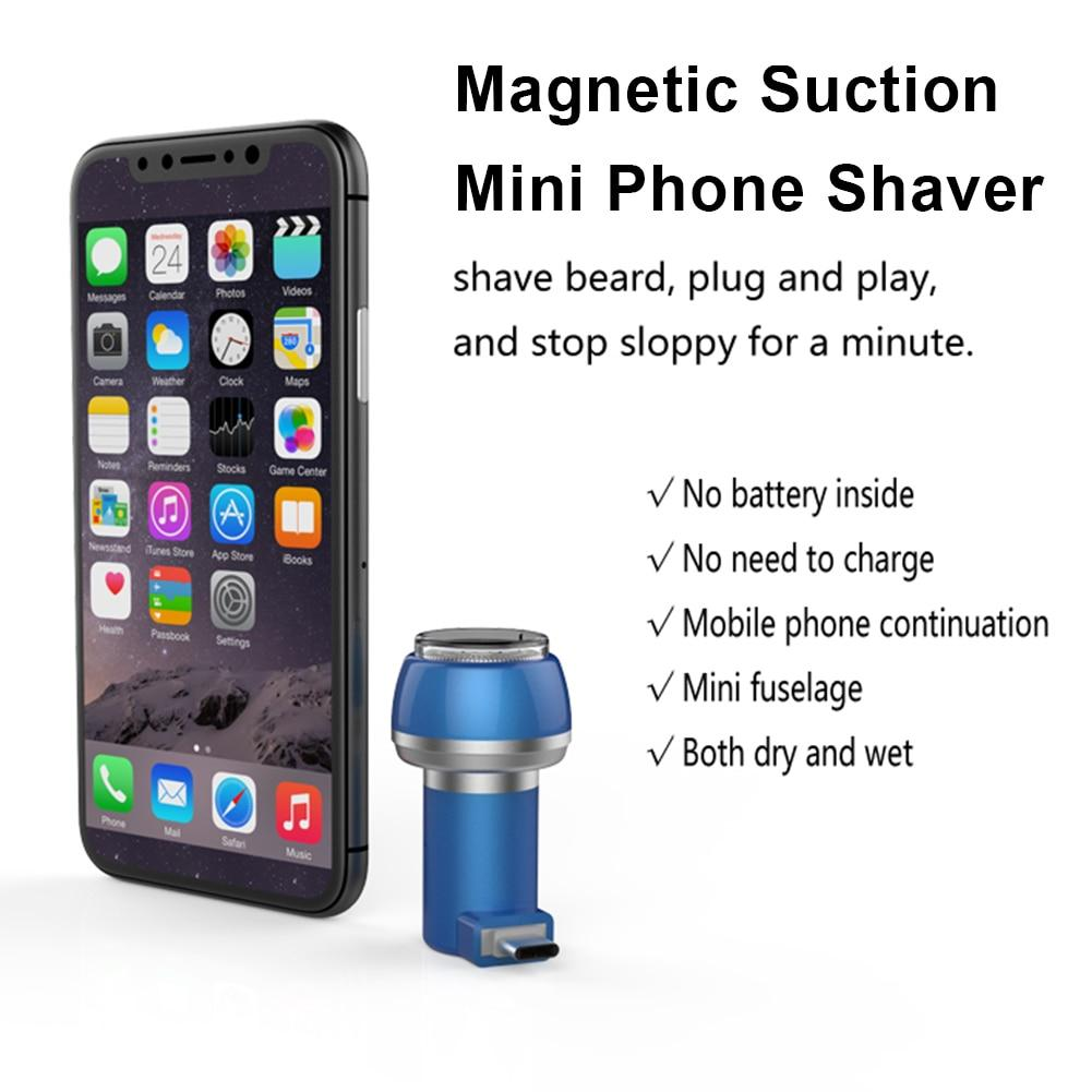 Portable Mini-USB Electric Shaver - DealzBEGIN