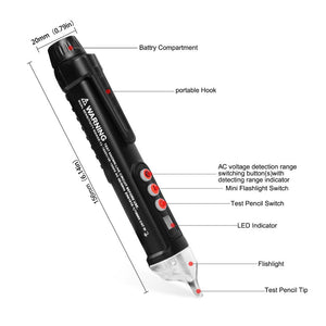 Compact Voltage Sensitivity Tester Pen - DealzBEGIN