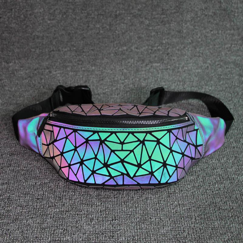 Luminous Holographic Fanny Pack - Waist Packs