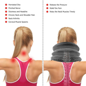 Fast Neck Pain Relief - Cervical Neck Traction Device - DealzBEGIN