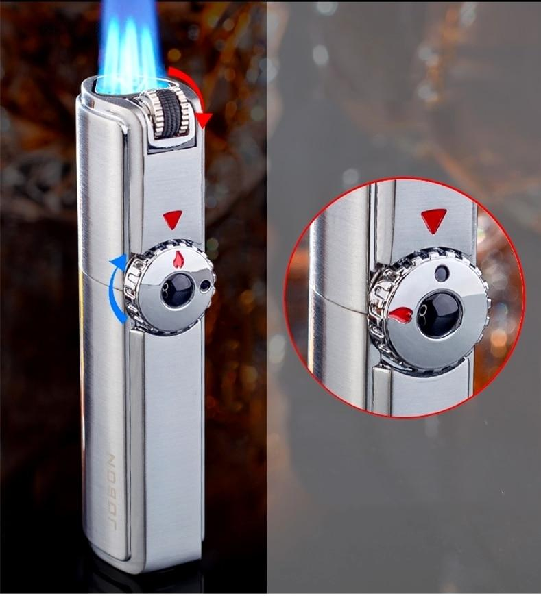 Triple Jet Torch Lighter Powerful And Windproof - DealzBEGIN