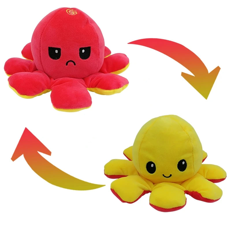 Reversible Octopus Plush