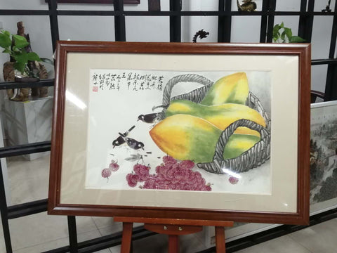Chinese Bird and Fruit Art Painting *Customized Price*