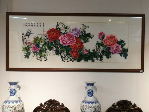Chinese Flower Painting Art Piece *Customized Price*
