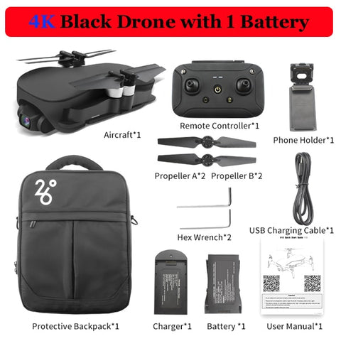 Professional Drone with HD Camera
