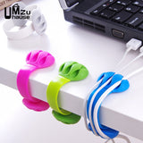 Home Office Headphone Cord Wire Holder