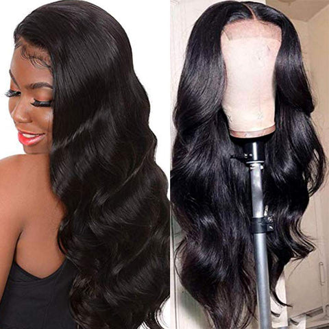 Long Body Wave Synthetic Lace Front Wigs