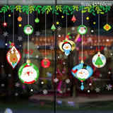 Holiday Christmas Window Stickers Christmas