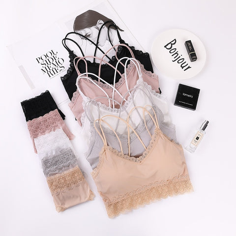 Women Lace Bras Set