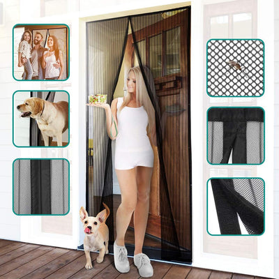 Trendise™ Magnetic Mesh Insect Screen Door (Last 2 Days Promotion - 50% OFF)