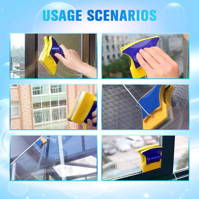 Trendise™ Magnetic Double-sided Window Cleaning Brush