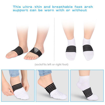 Plantar Fasciitis Support Brace (Pair) - LIMITED STOCK!
