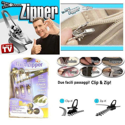 Instant Fix Zipper (6 Pack)