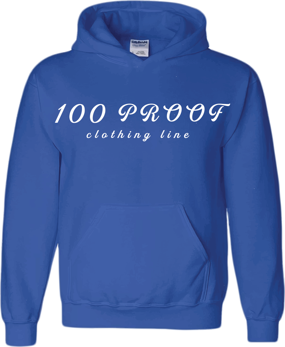 100 Proof Ladies Royal (w) Hoodie