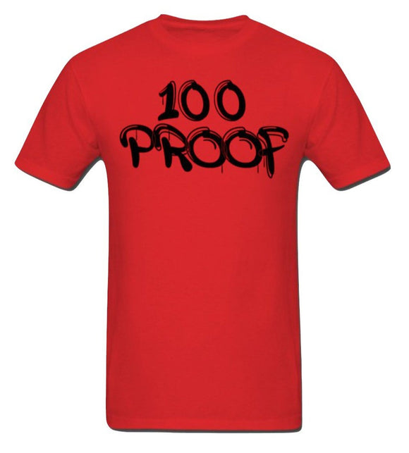 100 Proof Red T