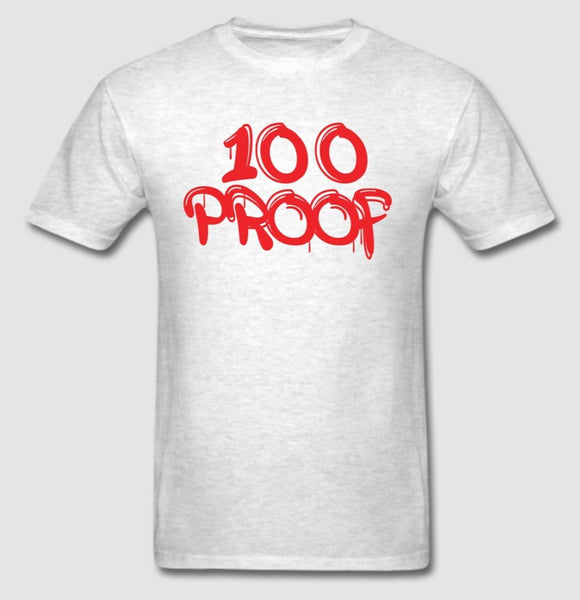 100 Proof White T