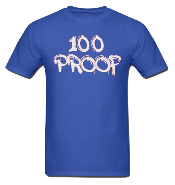 100 Proof Royal Blue T