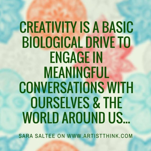 Creativity is Biological